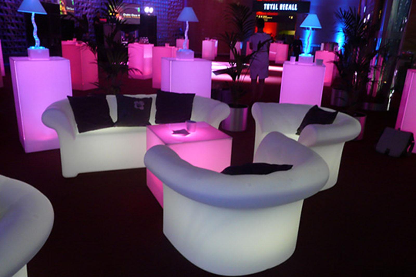 LED Lounge Furniture 3